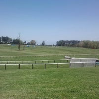 Photo taken at Foxfield Races by Jessica B. on 4/23/2013