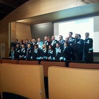 Photo taken at Üsküdar Üniversitesi Nermin Tarhan Konferans Salonu by Gaye K. on 4/10/2013
