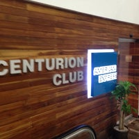 Photo taken at The Centurion Lounge by American Express by Rigo P. on 5/19/2013