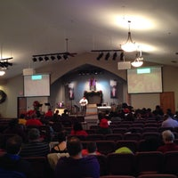 Photo taken at Northwest baptist church by Joe N. on 12/21/2014