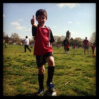 Photo taken at Stoddert Soccer @ Carter Baron Fields by Adina L. on 4/13/2013