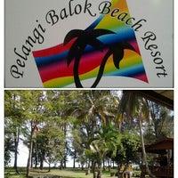 Photo taken at Pelangi Balok Beach Resort by Nik A. on 12/6/2012