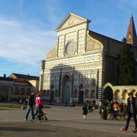 Photo taken at Piazza Santa Maria Novella by Kvanti N. on 12/29/2012