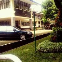 Photo taken at Fakultas Ilmu Komunikasi by Bayu S. on 2/7/2013