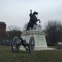 Photo taken at Andrew Jackson Statue by Kevin N. on 2/12/2016