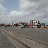 Photo taken at Hind Terminals - CFS by Jayesh P. on 6/26/2014