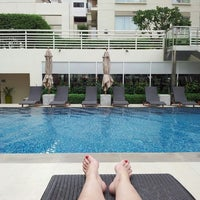 Photo taken at Courtyard by Marriott Bangkok by Emma-Louise C. on 6/24/2013