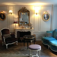 Photo taken at Hôtel de Buci by Misa on 10/8/2013