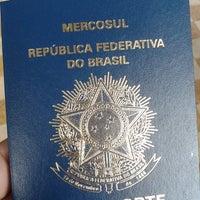 Photo taken at Delegacia da Policia Federal Cruzeiro by Danita F. on 10/18/2013