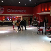 Photo taken at Cinemex Atlacomulco by Mirandiux G. on 12/28/2012