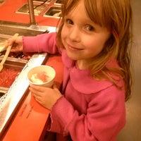 Photo taken at MoYos Frozen Yogurt by Clementine L. on 3/21/2013