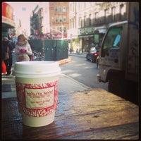 Photo taken at Nolita Mart & Espresso Bar by Brennan D. on 3/23/2013