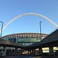Photo taken at Wembley Stadium by Chris L. on 5/1/2013