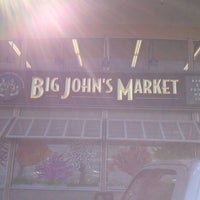 Photo taken at Big John's Market by m r. on 4/14/2013