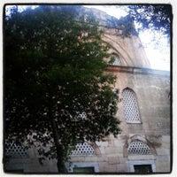 Photo taken at Yeni Cuma Camii by Esma K. on 7/8/2013