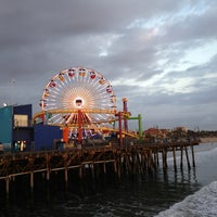 Photo taken at Santa Monica State Beach by Vinicius L. on 2/11/2013
