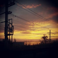 Photo taken at Raritan Bay Waterfront Park by Andrew B. on 10/15/2012