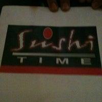 Photo taken at Sushi Time by Ilyana Q. on 12/30/2012