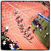 Photo taken at Franklin Field by Martin E. on 4/27/2013