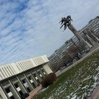 Photo taken at Кыргызская национальная филармония им. Т. Сатылганова by Aleksey G. on 11/27/2012