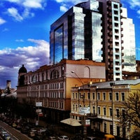 Photo taken at Leonardo Business Centre by Andrej S. on 10/26/2012