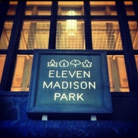 Photo taken at Eleven Madison Park by Zied Z. on 12/24/2012
