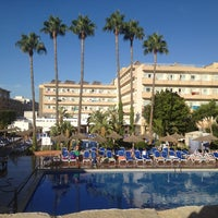 Photo taken at Hotel Santa Ponsa Park by Олеся С. on 8/12/2013