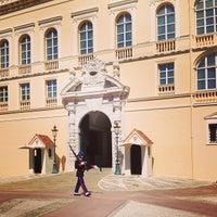 Photo taken at Palais Princier de Monaco by Anastasia E. on 5/6/2013