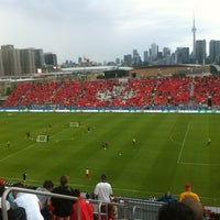Photo taken at BMO Field by Aries L. on 6/1/2013