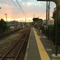 Photo taken at 小野町駅(Onomachi Sta.) by Yosuke O. on 8/11/2014