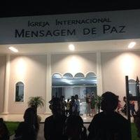 Photo taken at Igreja Mensagem De Paz by Tatiana M. on 3/20/2014