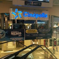 Photo taken at Cinépolis by Eddy R. on 9/28/2012