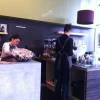 Photo taken at Bench Espresso by Tim S. on 10/1/2012