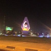 Photo taken at Prince Bin Jalawy Park by Ahmad A. on 9/22/2012
