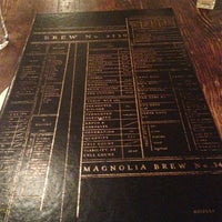 Photo taken at Magnolia Gastropub & Brewery by Erin G. on 1/23/2013
