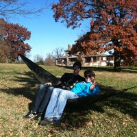 Photo taken at Patterson Park Kickball by Colton R. on 11/18/2012