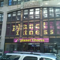 Photo taken at Planet Fitness by Leniere M. on 4/22/2013