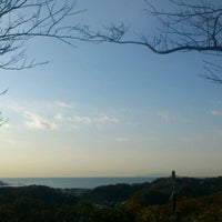 Photo taken at 源氏山公園 by Melissa K. on 12/6/2012