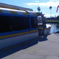 Photo taken at Friendship Boat Dock - Disney's Hollywood Studios by Nathalie B. on 11/1/2012