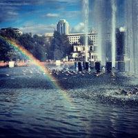 Photo taken at Gorky Park by Ksusha B. on 7/24/2013