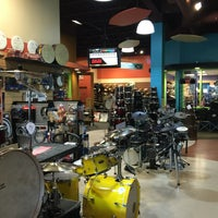 Photo taken at Cosmo Music - The Musical Instrument Superstore! by Tim S. on 6/26/2016