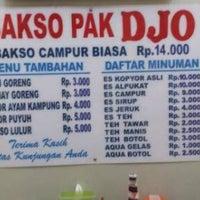 Photo taken at Bakso Pak Djo by wirawan a. on 4/20/2016