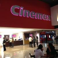 Photo taken at Cinemex by Erika R. on 12/24/2012