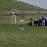 Photo taken at Kennedy Soccer Complex by Miles G. on 5/10/2014