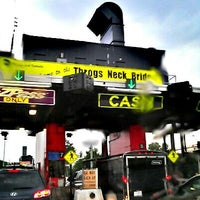 Photo taken at Throgs Neck Bridge Toll Plaza by Milton on 7/18/2012