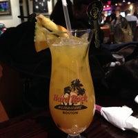 Photo taken at Hard Rock Cafe Boston by Ananda L. on 2/2/2013
