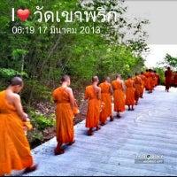 Photo taken at วัดเขาพริก by m_teacher on 3/16/2013