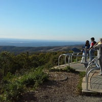 Photo taken at Mt Lofty Summit by Ambler T. on 3/30/2015