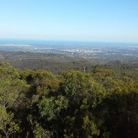 Photo taken at Mt Lofty Summit by Ambler T. on 3/21/2015