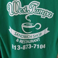 Photo taken at West Tampa Sandwich Shop by Bruce B. on 1/7/2016